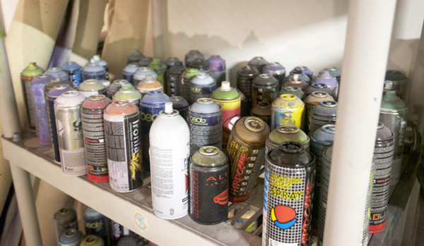 Douglas Hoekzema Spray Cans