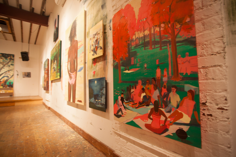 Jules De Balincourt Studio
